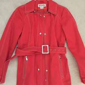 M Kors belted short jacket sz xs